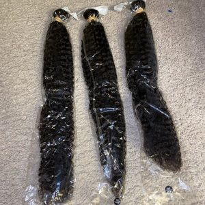 **SOLD** 28 in Kinky Curly Virgin Hair/Human Hair